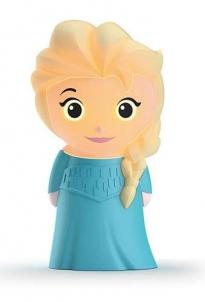 Šviestuvas Philips Disney SoftPal 71768/03/16 Elsa, LED, Blue