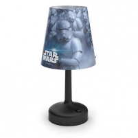 Šviestuvas Philips Star Wars 71796/30/16 Stormtrooper, LED, Black Galda lampas