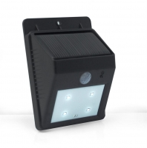 Šviestuvas su saulės baterija PowerNeed Sunen su judesio davikliu IP64 Šviestuvams atbalsts