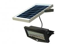 Šviestuvas su saulės baterija PowerNeed Sunen su judesio davikliu IP65 Luminaires support