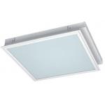 Šviestuvas T8/G13, 4x18W, EVG (elektroninis), IP20, įleidžiamas, su matiniu PVC stiklu, SEVILLA, GTV OS-SE418W-01