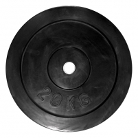 Svoriai Aker rubber covered 20kg