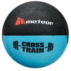 Svorinis kamuolys METEOR CROSSFIT 2 kg Vingrinājumā bumbiņas