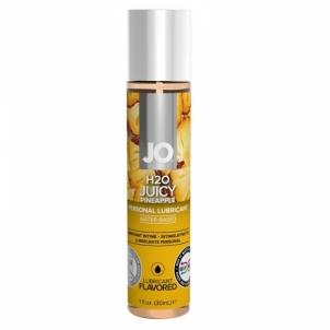 System JO - H2O lubrikantas Sultingas ananasas 30 ml Oral lubes