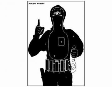 Taikinys ,,Teroristas -10 vnt