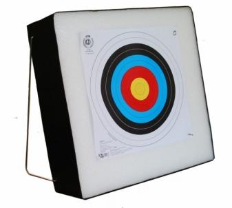 Taikinys strėlėms 60x60x20 Sportinio šaudymo priedai