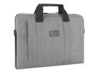 Targus City Smart Laptop Slipcase for 14'' - 15.6'' (Grey) / Nylon / Interior: 37.4 x 3.8 x 26 cm