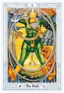 Taro Kortos Aleister Crowley Tarot - De Luxe