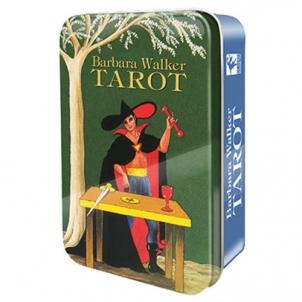 Taro kortos Barbara Walker skardinėje dėžutėje