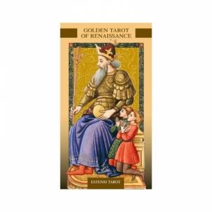Taro Kortos Golden Tarot Of Renaissance