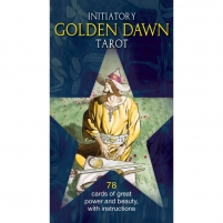Taro Kortos Initiatory Tarot Of The Golden Dawn Žaidimai