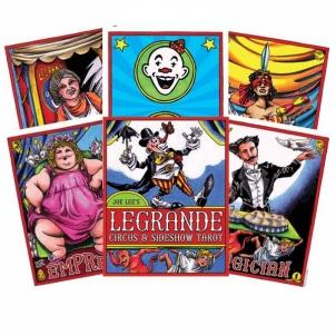 Taro kortos Legrande Circus & Sideshow