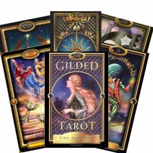Taro Kortos The Gilded Žaidimai, kortos