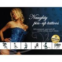 Tattoo Set - Naughty Pin-Up Kitos sekso prekės