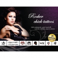 Tattoo Set - Rocker Chick Other sex products