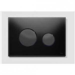 TECEloop stiklinis nuleidimo mygtukas, juodi mygtukai Potinkinės systems