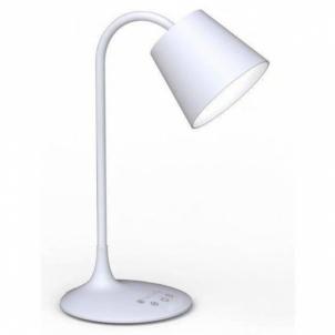 Techly LED stalinė lempa 24 diodų 4,5W 2700K/6500K su įkraunama baterija, balta Galda lampas