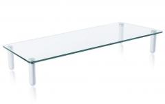 Techly universalus stiklo stovas LED / LCD ekranui iki 20 kg