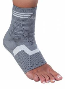 Tekstilinis čiurnos įtvaras Malolax su silikoniniu paminkštinimu Sports medicine