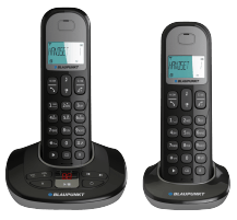 Telefonas Blaupunkt Option TAM Duo black Bevieliai telefonai