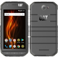 "Mobile phone CAT S31 Black, 4.7 "", TFT, 720 x 1280 pixels, Qualcomm Snapdragon, 210, Internal RAM 2 GB, 16 GB, microSD, Dual SIM, Nano-SIM, 3G, 4G, Main camera 8 MP, Second camera 2 MP, Android, 7.0, 4000 mAh, Warranty 24 month(s) Mobile phones"