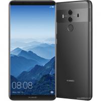 "Mobile phone Huawei Mate 10 Pro Titanium Gray, 6.0 "", AMOLED, 1080 x 2160 pixels, Hisilicon Kirin, 970, Internal RAM 6 GB, 128 GB, Dual SIM, Nano-SIM, 3G, 4G, Main camera Dual: 12+20 MP, Second camera 8 MP, Android, 8.0, 4000 mAh, Warranty 24 month(s"