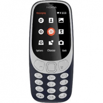 "Mobilais telefons Nokia 3310 (2017) Dark Blue, 2.4 "", TFT, 16 MB, microSD, Dual SIM, Micro-SIM, Bluetooth, 3.0, USB version microUSB 2.0, Built-in camera, Main camera 2 MP, 1200 mAh, 5.1 cm, 11.56 cm, 1.28 cm, Warranty 24 month(s)"