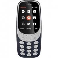 "Telefonas Nokia 3310 (2017) Dark Blue, 2.4 "", TFT, 16 MB, microSD, Dual SIM, Micro-SIM, Bluetooth, 3.0, USB version microUSB 2.0, Built-in camera, Main camera 2 MP, 1200 mAh, 5.1 cm, 11.56 cm, 1.28 cm, Warranty 24 month(s) Mobilūs telefonai"