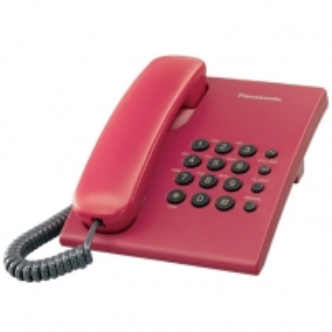 Telefonas PANASONIC KX-TS500FXR Laidiniai telefonai