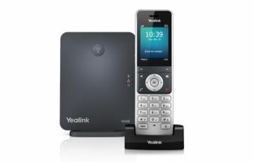 Telefonas Yealink DECT bazė W60B su telefono rageliu W56H