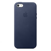 Telefono dėklas Apple Case, Apple, iPhone SE, Leather, Midnight Blue