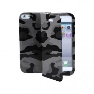 Telefono dėklas Book Case Camou Galaxy S4