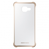 Telefono dėklas Clear Cover for A3 (2016) Gold