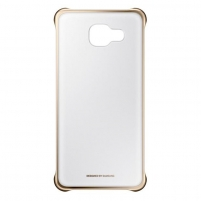 Telefono dėklas Clear Cover for A510 Gold