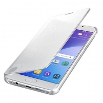 Telefono dėklas Clear View Cover for A5 (2016) Silver