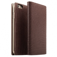 Telefono dėklas D3 Lizard for iPhone6/6s +Brown Leather