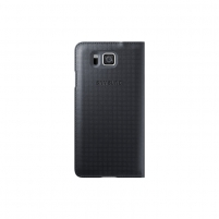Telefono dėklas Flip Cover GALAXY ALPHA Black