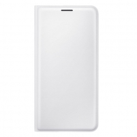 Telefono dėklas Flip Wallet for J1 (216) White