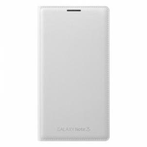 Telefono dėklas Flip wallet for N9005 GN3 White