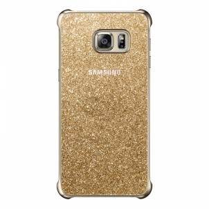 Telefono dėklas Galaxy S6 EDGE+ Glitter Cover Gold
