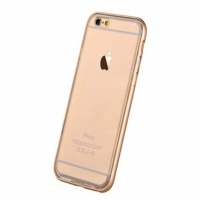 Telefono dėklas Glitter Soft for iPhone6/6s Champagne Gold