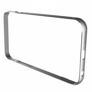 Telefono dėklas Iron Bumper-white/silver for iPhone 6