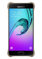 Telefono dėklas Samsung Clear cover for Galaxy A3 (2016) A310 (Gold)