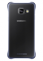 Telefono dėklas Samsung Clear cover for Galaxy A5 (2016) A510 (Black)