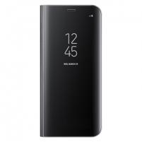 Telefono dėklas Samsung Clear View Standing Cover, Samsung Galaxy S8+ G955, Black