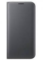 Telefono dėklas Samsung Flip Wallet for Galaxy S7 Edge G935 (Black)