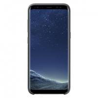Telefono dėklas Samsung Silicone Cover, Samsung Galaxy S8+ G955, Dark Grey