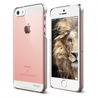 Telefono dėklas Slim Fit for iPhone 5/SE Crystal Clear