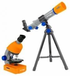 Teleskopas + Mikroskopas Bresser Junior