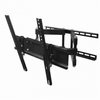 "Televizoriaus laikiklis Gembird Wall, WM-55RT-03 TV wall mount (rotate and tilt), 26 - 55 "", Maximum weight (capacity) 50 kg, VESA mounting dimensions 400x400 mm Yes, Black TV stovai, laikikliai"
